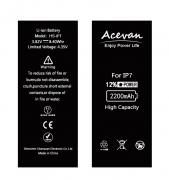 Acevan Replacement Battery for iPhone 7,High Capacity New 0 Cycle 2200mAh with Tool Kits